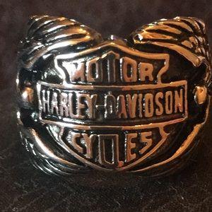 Harley Davidson Bar and Shield Ring